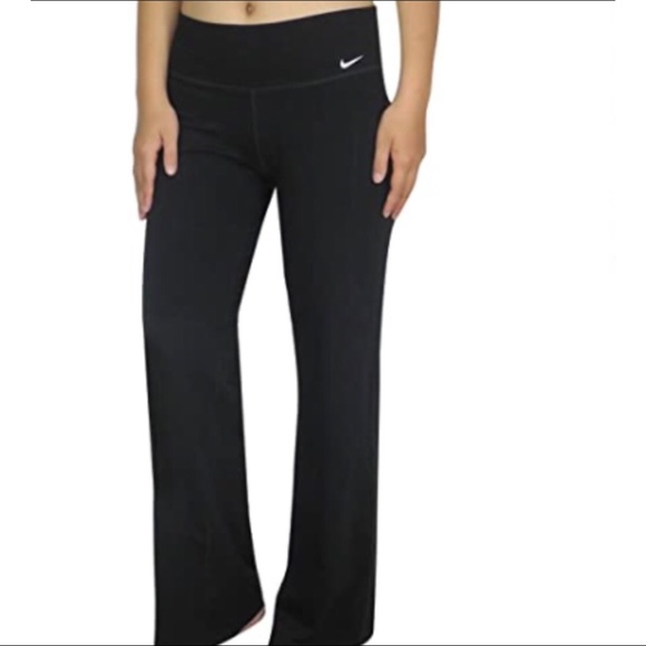 Nike Women's Dri-Fit Boot Cut Yoga Training Pants